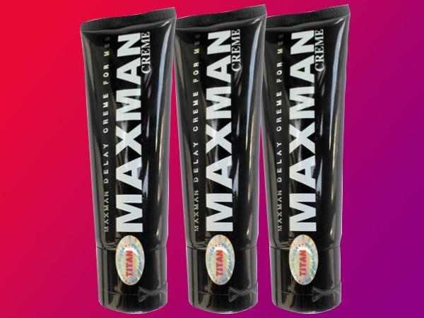Maxman Gel - vũ khí lợi hại chốn phòng the